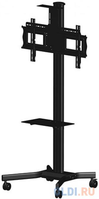 Фото - [MH63VC] Мобильная стойка для видеоконференций Wize MH63VC для дисплеев 37 63+, высота 183 см,верт. регулировка полки, кабельн. канал, наклон+15/-5°, поворот+/-6°, до 68 кг, Max VESA 723х501,крепл. для видеокамеры, черн. (5 мест) стиральный порошок lion beat econo max универсальный концентрат для стирки в холодной воде 1 5 кг 30 стирок