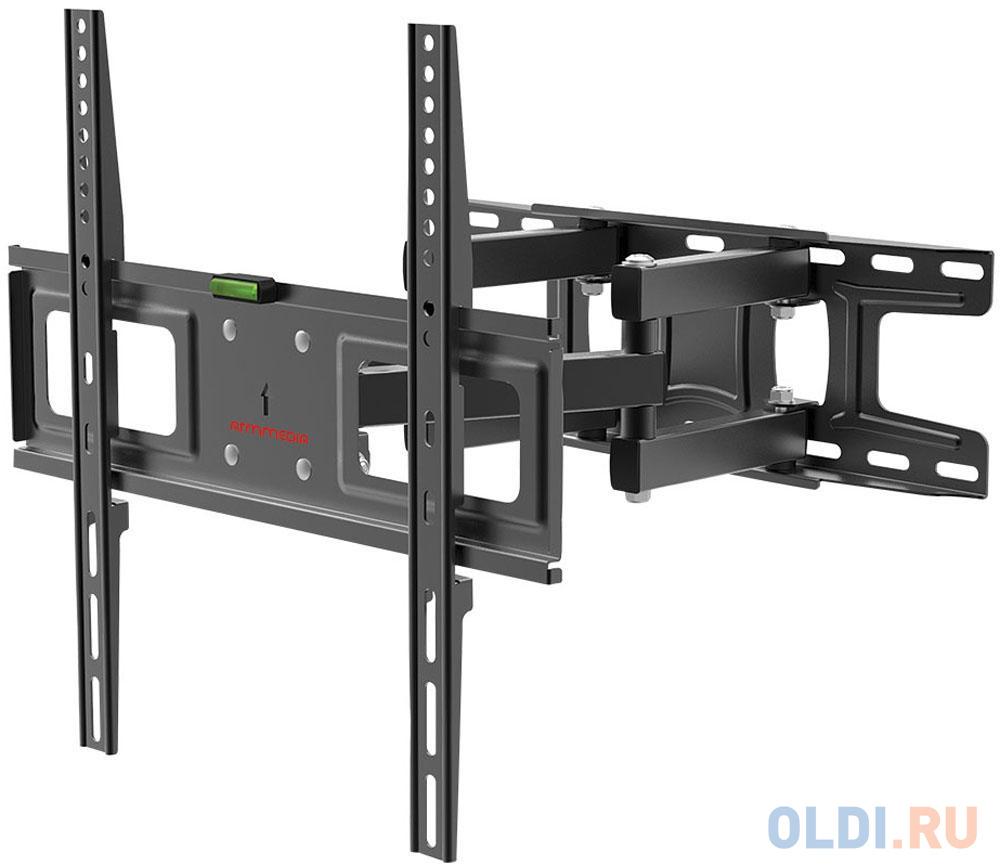 Фото - Кронштейн для телевизора Arm Media LCD-417 черный 26-55 макс.35кг настенный поворотно-выдвижной и наклонный кронштейн для телевизора arm media lcd 415 24 55 настенный поворотно выдвижной и наклонный