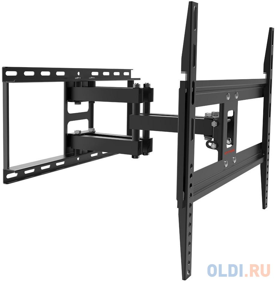 Фото - Кронштейн для телевизора Arm Media COBRA-50 черный 26-55 макс.35кг настенный поворотно-выдвижной и наклонный кронштейн для телевизора arm media lcd 415 24 55 настенный поворотно выдвижной и наклонный