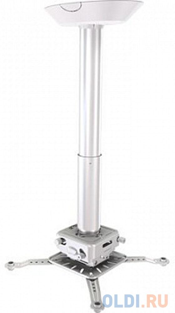 Фото - [PRG11A-W] Универсальный потолочный комплект Wize Pro PRG11A-W состоящий из крепления с микрорегулировкой+штанги 15-28см +площадки к потолку для проектора, макс.расст.между креп.отверстиями 537 мм,наклон +/-15°,поворот +/- 8°,вращение 360°,до 32 кг,бел. потолочный комплект для проектора wize pro для размещения на подвесной потолок на основе комплекта prg11a w штанга 15 28 см