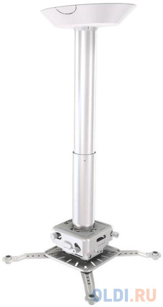 Фото - [CAS-PR11A-W] Потолочный комплект для проектора Wize Pro для размещения на подвесной потолок на основе комплекта PR11A-W, штанга 15-28 см, наклон +/- 25°, поворот +/- 6°, вращение 360°, до 23 кг, бел. (2 места) потолочный комплект для проектора wize pro для размещения на подвесной потолок на основе комплекта prg11a w штанга 15 28 см