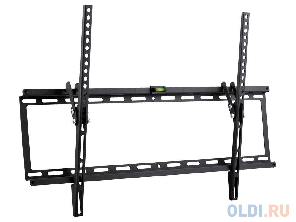 Кронштейн Kromax IDEAL-2 new Black настенный для TV 32-90 max 55 кг 1 ст св. нак. 0°-10° от ст. 23 мм max VESA 600x400 мм..