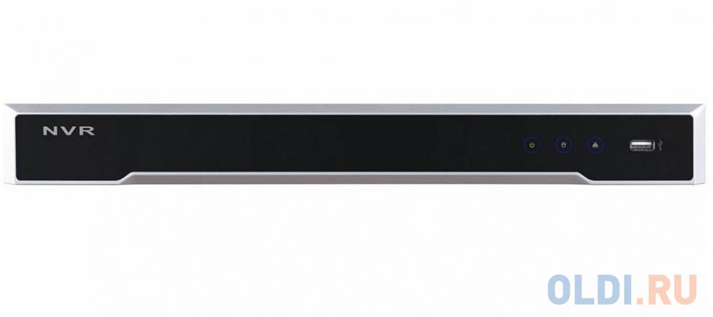 Видеорегистратор сетевой Hikvision DS-7608NI-K2 3840x2160 2хHDD HDMI VGA до 8 каналов видеорегистратор hikvision ds 7608ni k2