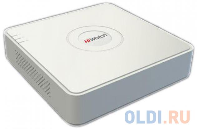 Видеорегистратор Hikvision HiWatch DS-N204P(B) видеорегистратор hikvision hiwatch ds n304w