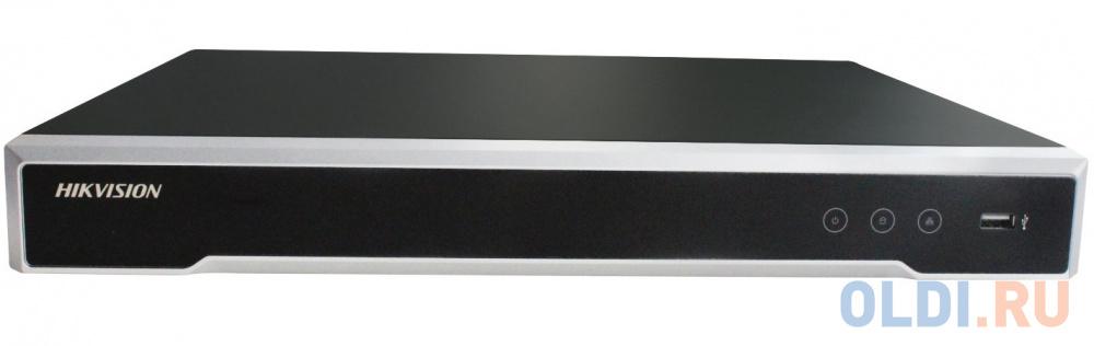 Видеорегистратор сетевой Hikvision DS-7608NI-K2/8P 3840x2160 2хHDD USB2.0 USB3.0 RJ-45 HDMI VGA до 8 каналов.