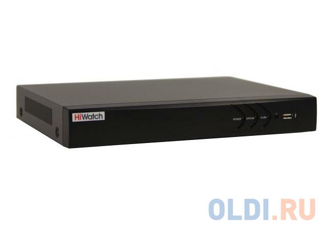 Видеорегистратор Hikvision HiWatch DS-N308(B) видеорегистратор hikvision hiwatch ds n304w