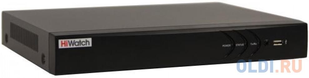 Видеорегистратор Hikvision HiWatch DS-H208QP видеорегистратор hikvision hiwatch ds n304w