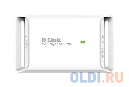 PoE-инжектор D-Link DPE-301GI/A1A Гигабитный PoE-инжектор (выходное напряжение 54В DC) ( OEM )