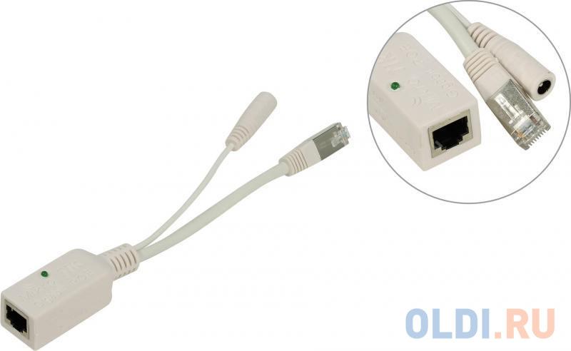 Инжектор питания MikroTik RBGPOE Gigabit PoE injector.