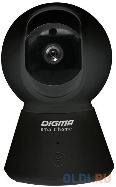 Камера IP Digma DiVision 401 CMOS 2.8 мм 1920 x 1080 H.264 MJPEG Wi-Fi черный фото