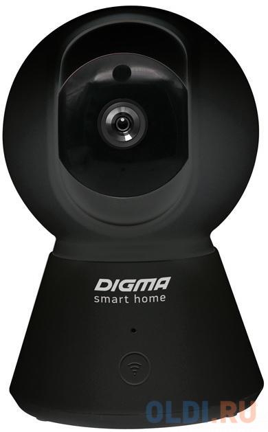 Камера IP Digma DiVision 401 CMOS 2.8 мм 1920 x 1080 H.264 MJPEG Wi-Fi черный сетевая камера digma division 300 черный