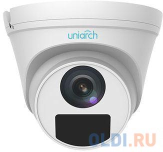 Видеокамера IP UNV IPC-T114-PF28 2.8-2.8мм цветная корп.:белый
