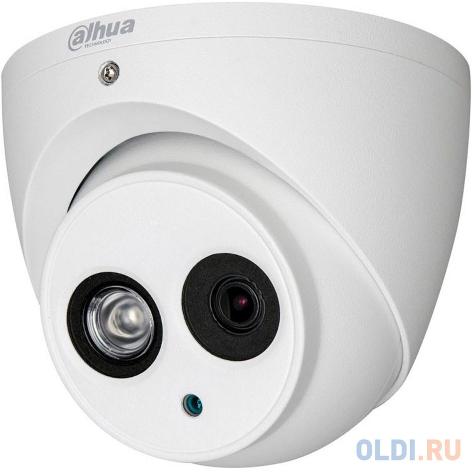 Камера видеонаблюдения Dahua DH-HAC-HDW1400EMP-A-0360B 3.6-3.6мм HD СVI цветная корп.:белый камера видеонаблюдения dahua dh hac hfw1000rmp 0280b s3 2 8 2 8мм цветная корп белый