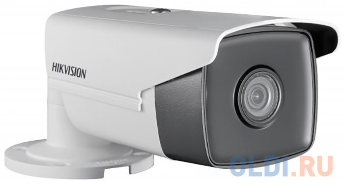 Камера IP Hikvision DS-2CD2T43G0-I8 (4 MM) CMOS 1/3 4 мм 2688 x 1520 Н.265 H.264 MJPEG RJ45 10M/100M Ethernet PoE белый