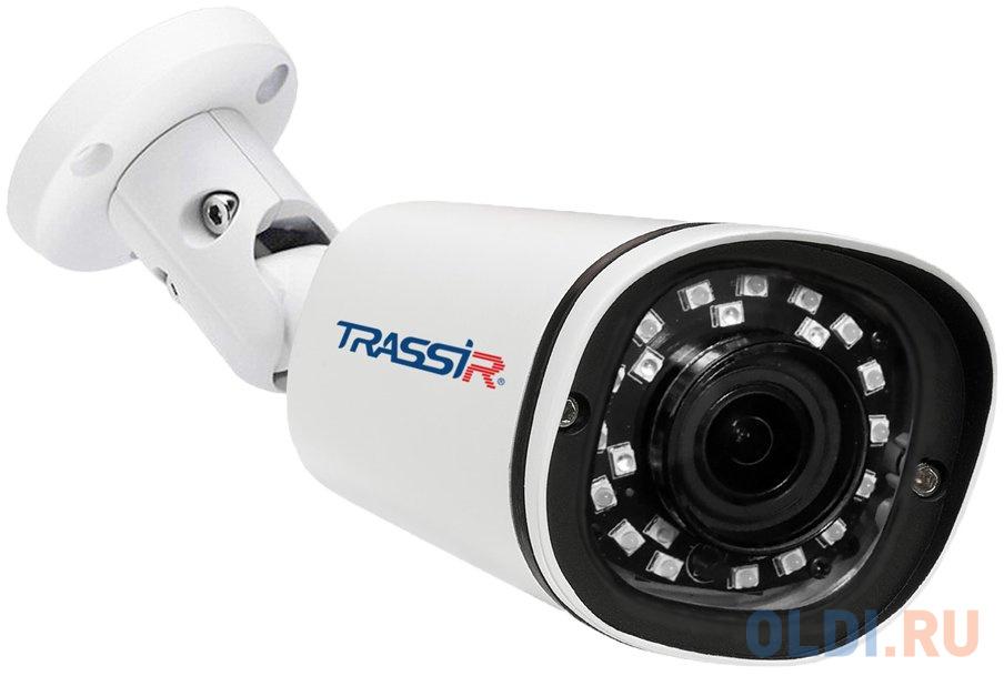 Фото - Камера IP Trassir TR-D2121IR3 CMOS 1/2.9 3.6 мм 1920 x 1080 H.264 MJPEG RJ-45 LAN PoE белый видеокамера ip trassir tr d2121ir3 1080p 2 8 мм белый