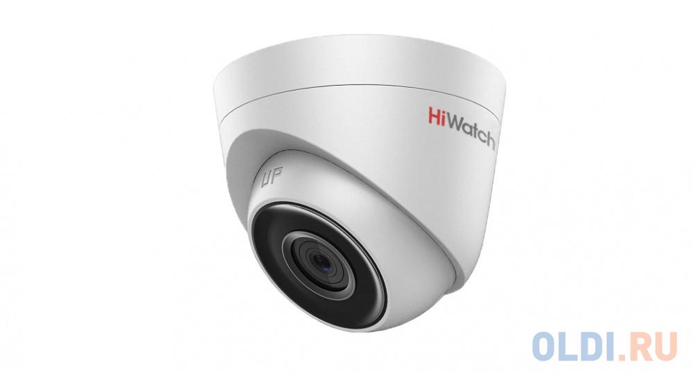 Камера IP Hikvision HiWatch DS-I253 CMOS 1/2.8 4 мм 1920 x 1080 MJPEG Н.265 H.264 RJ45 10M/100M Ethernet PoE белый камера ip hikvision hiwatch ds i200 6 mm cmos 1 2 8 6 мм 1920 x 1080 h 264 mjpeg rj45 10m 100m ethernet poe белый
