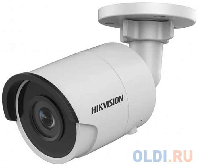 Камера IP Hikvision DS-2CD2023G0-I CMOS 1/2.8 6 мм 1920 x 1080 Н.265 H.264 RJ45 10M/100M Ethernet PoE белый камера ip hikvision hiwatch ds i200 6 mm cmos 1 2 8 6 мм 1920 x 1080 h 264 mjpeg rj45 10m 100m ethernet poe белый