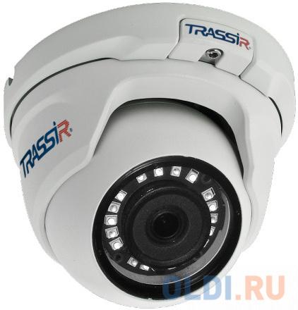 Видеокамера IP Trassir TR-D8141IR2 2.8-2.8мм цветная корп.:белый