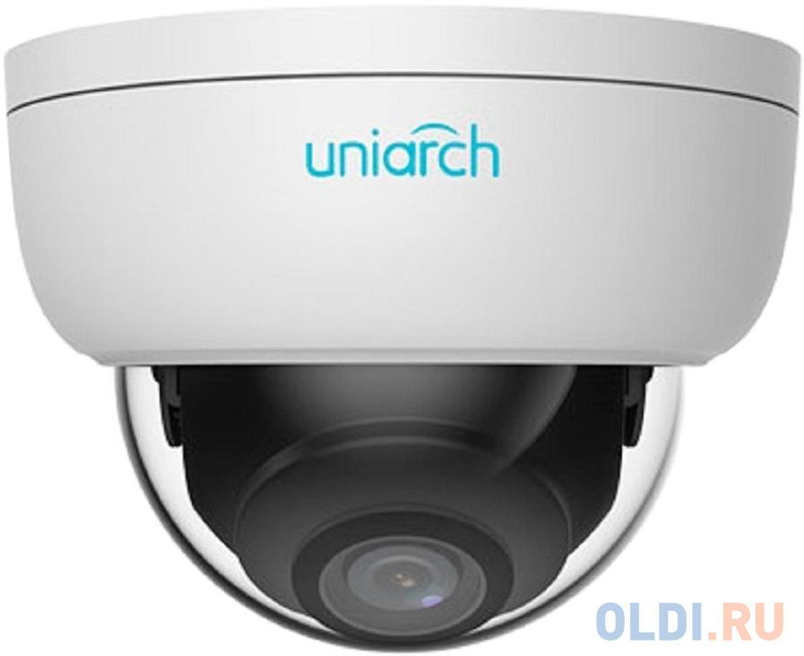 Видеокамера IP UNV IPC-D112-PF28 2.8-2.8мм цветная корп.:белый фото