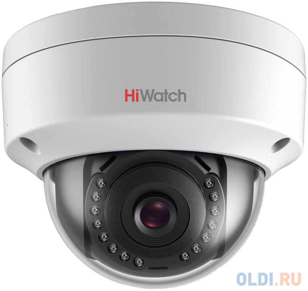 Камера IP Hikvision HiWatch DS-I202 (2.8 MM) CMOS 1/2.8 2.8 мм 1920 x 1080 H.264 MJPEG RJ45 10M/100M Ethernet PoE белый.