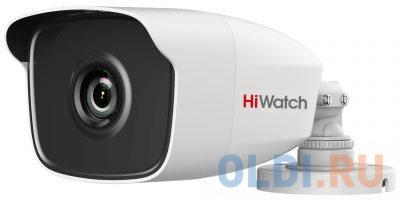 Фото - Камера видеонаблюдения Hikvision HiWatch DS-T120 2.8-2.8мм цветная аналоговая камера hiwatch ds t120 6mm
