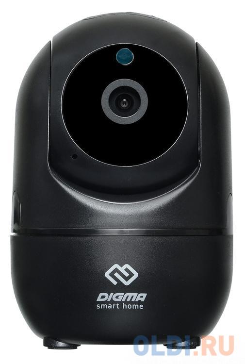 Камера IP Digma DiVision 201 CMOS 2.8 мм 1280 x 720 Wi-Fi черный сетевая камера digma division 300 черный