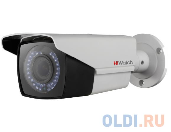 Камера видеонаблюдения Hikvision HiWatch DS-T206P 2.8-12мм цветная корп.:белый.