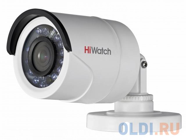 Камера Hikvision DS-T200P CMOS 1/2.7 3.6 мм 1920 x 1080 HD-TVI белый.
