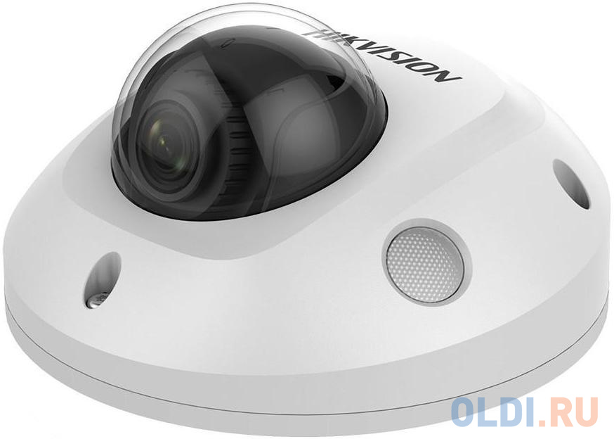 Фото - Камера IP Hikvision DS-2CD2563G0-IWS (4 MM) CMOS 1/2.9 4 мм 3072 х 2048 Н.265 H.264 MJPEG RJ45 10M/100M Ethernet Wi-Fi PoE белый ip камера hikvision ds 2cd2563g0 iws 4mm