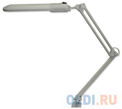 Настольная лампа Трансвит Дельта серый 2G7 11 Вт струбцина FSD-11/40/1B-E-2G7
