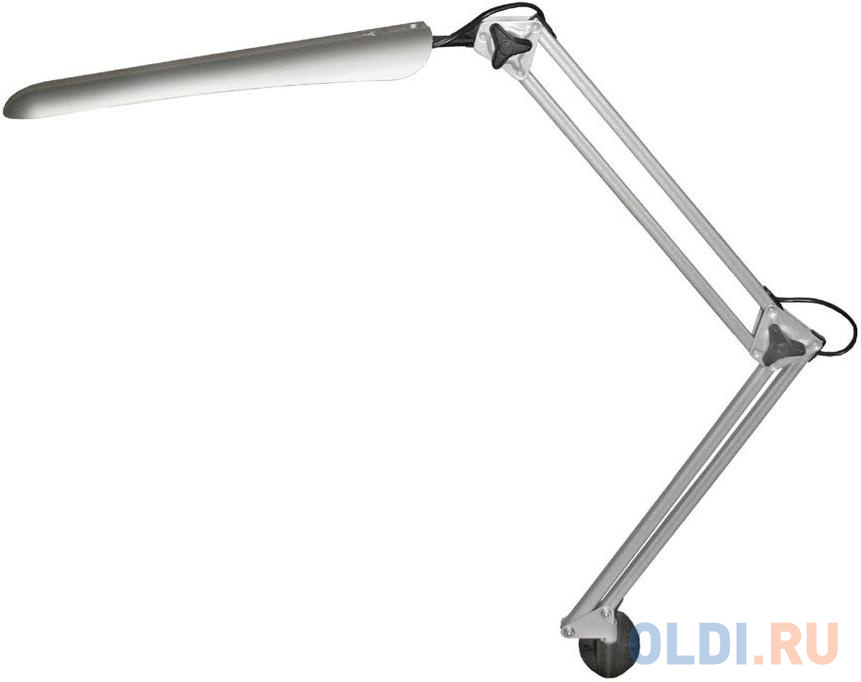 Настольная лампа Трансвит Hermes 8Вт серебристый