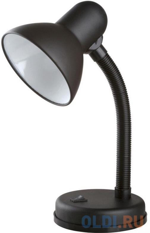 Camelion KD-301 С02 черный (Светильник настольный,230V 60W)