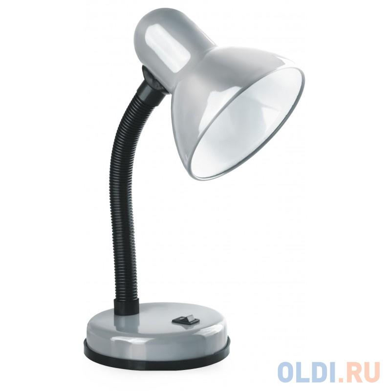 Camelion KD-301 С03 серебро (Светильник настольный,230V 60W)