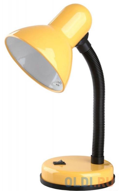 Camelion KD-301 С07 желтый (Светильник настольный,230V 60W)