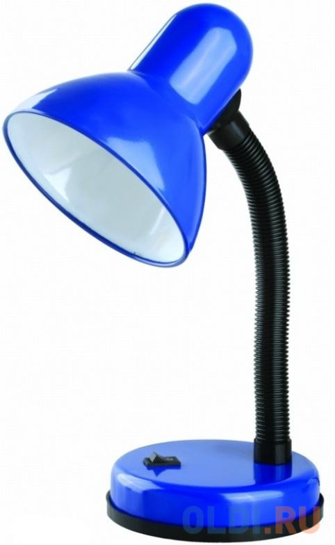 Camelion KD-301 С06 синий (Светильник настольный,230V 60W)