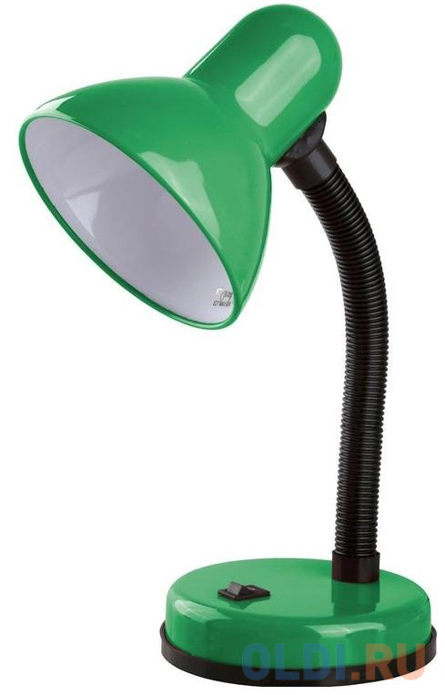 Camelion KD-301 С05 зелёный (Светильник настольный 230В, 60Вт, ЛОН)