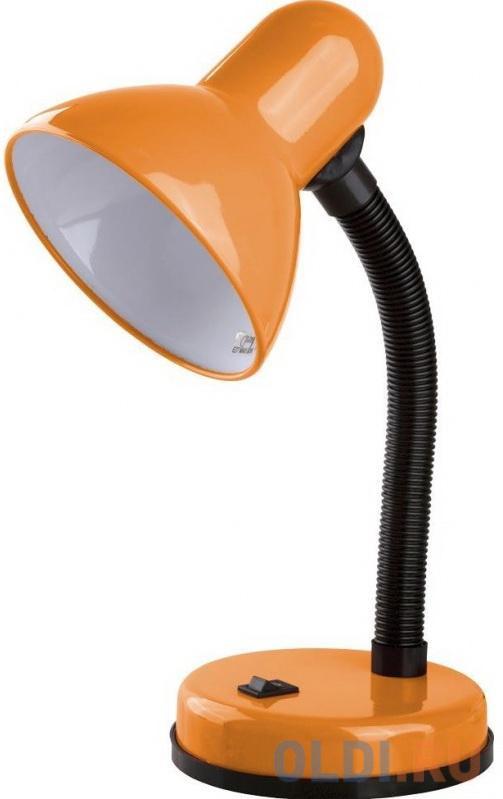 Camelion KD-301 С11 оранжевый (Светильник настольный 230В, 60Вт, ЛОН)