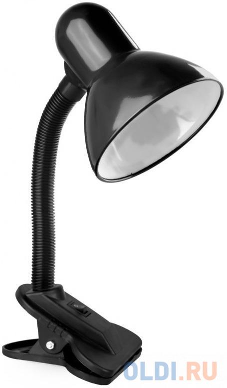Фото - Camelion KD-320 C02 черный (Светильник настольный с прищепкой 230В, 60Вт, E27, ЛОН) светильники camelion настольный с прищепкой kd 320