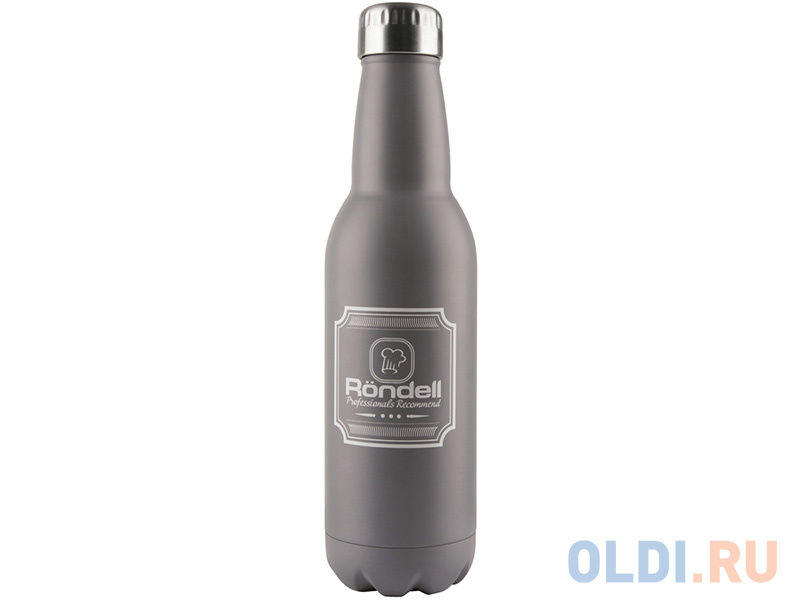 Фото - 841-RDS Термос 0,75 л Bottle Grey Rondell термос 0 75 л rondell bottle grey rds 841