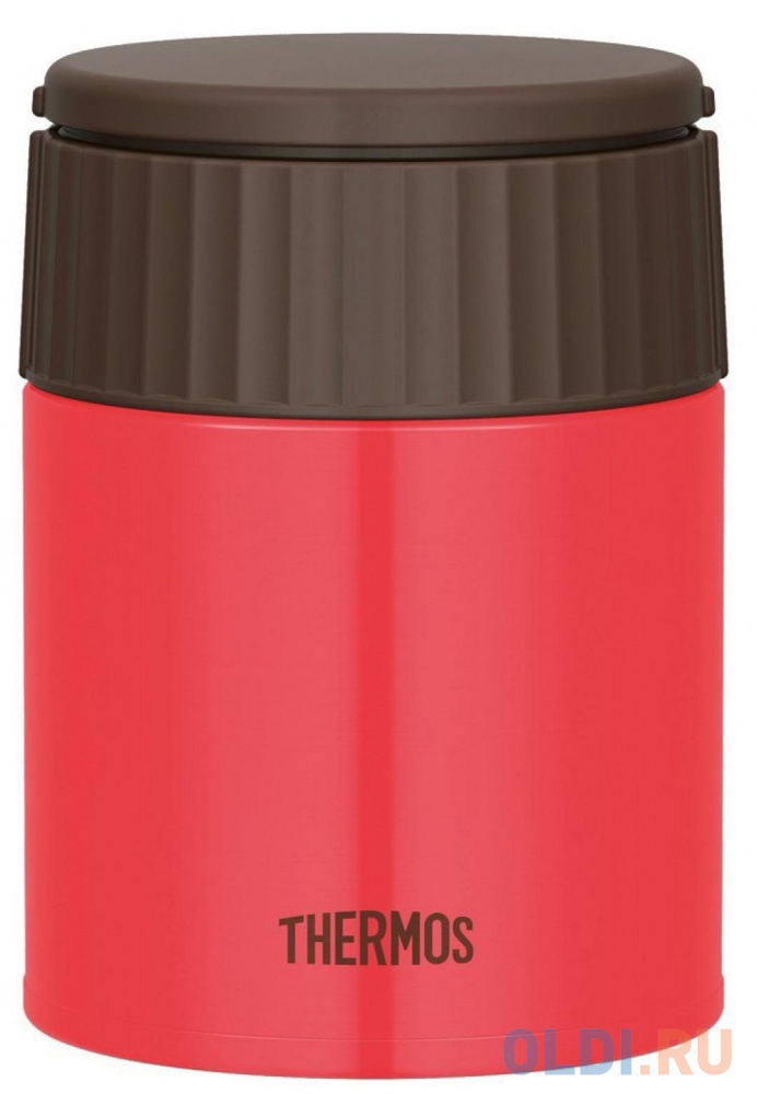 Термос Thermos JBQ-400-PCH (924681) 0.4л. красный/коричневый термос thermos jbq 400 mlk 0 4l