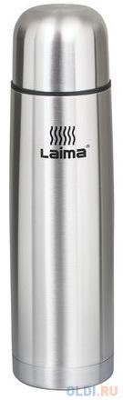 Термос ЛАЙМА классический с узким горлом, 0,5 л, нержавеющая сталь, 601412 термос лайма с узким горлом 0 5 л нержавеющая сталь хаки 601409