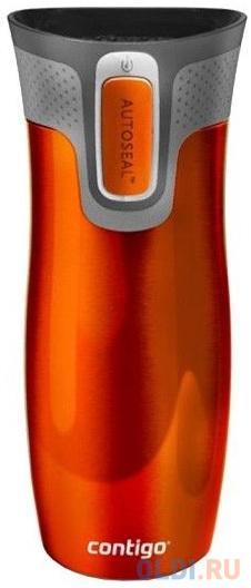 Термокружка Contigo West Loop 0.47л. оранжевый (2095850)