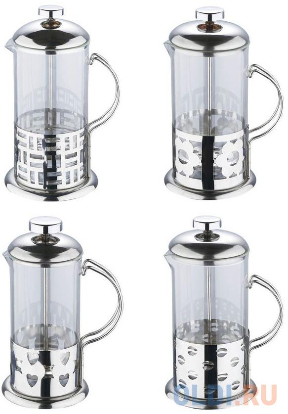 Френч-пресс Wellberg WB-6982 800 мл в ассортименте чайник заварочный wellberg wb 6887 brewing