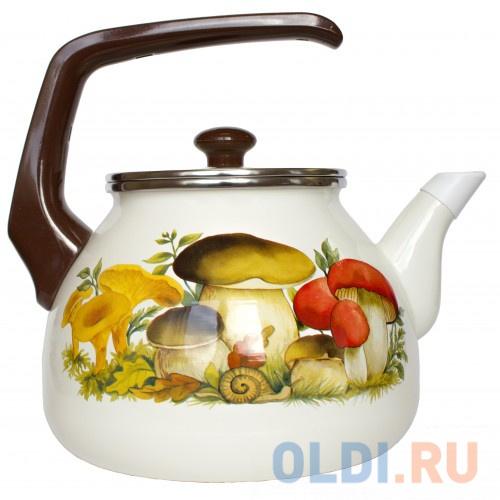 Чайник INTEROS Грибы 3 л 15251 чайник avsar грибы 3 л