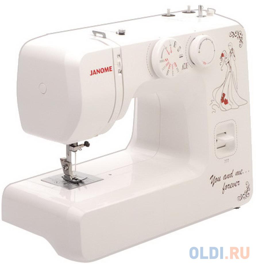 Швейная машина Janome 777 белый швейная машина janome el 545s