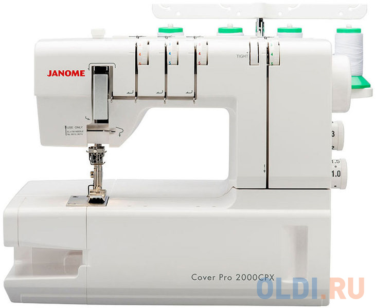 Оверлок Janome CoverPro 2000 CPX белый фото