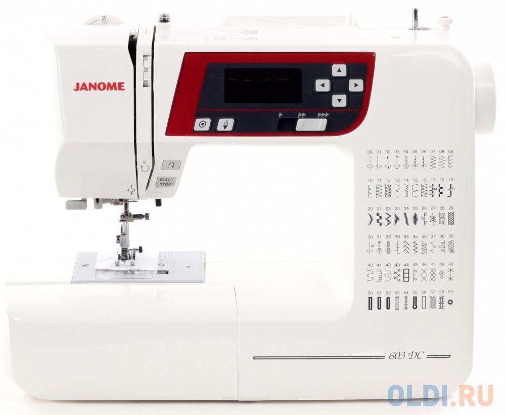 Швейная машина Janome 603 DC белый швейная машина janome 2020