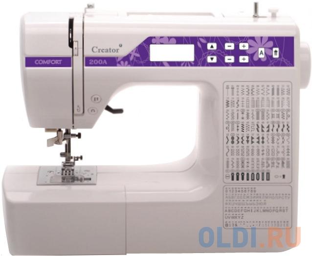 Швейная машина Comfort 200A белый швейная машина comfort 12 белый