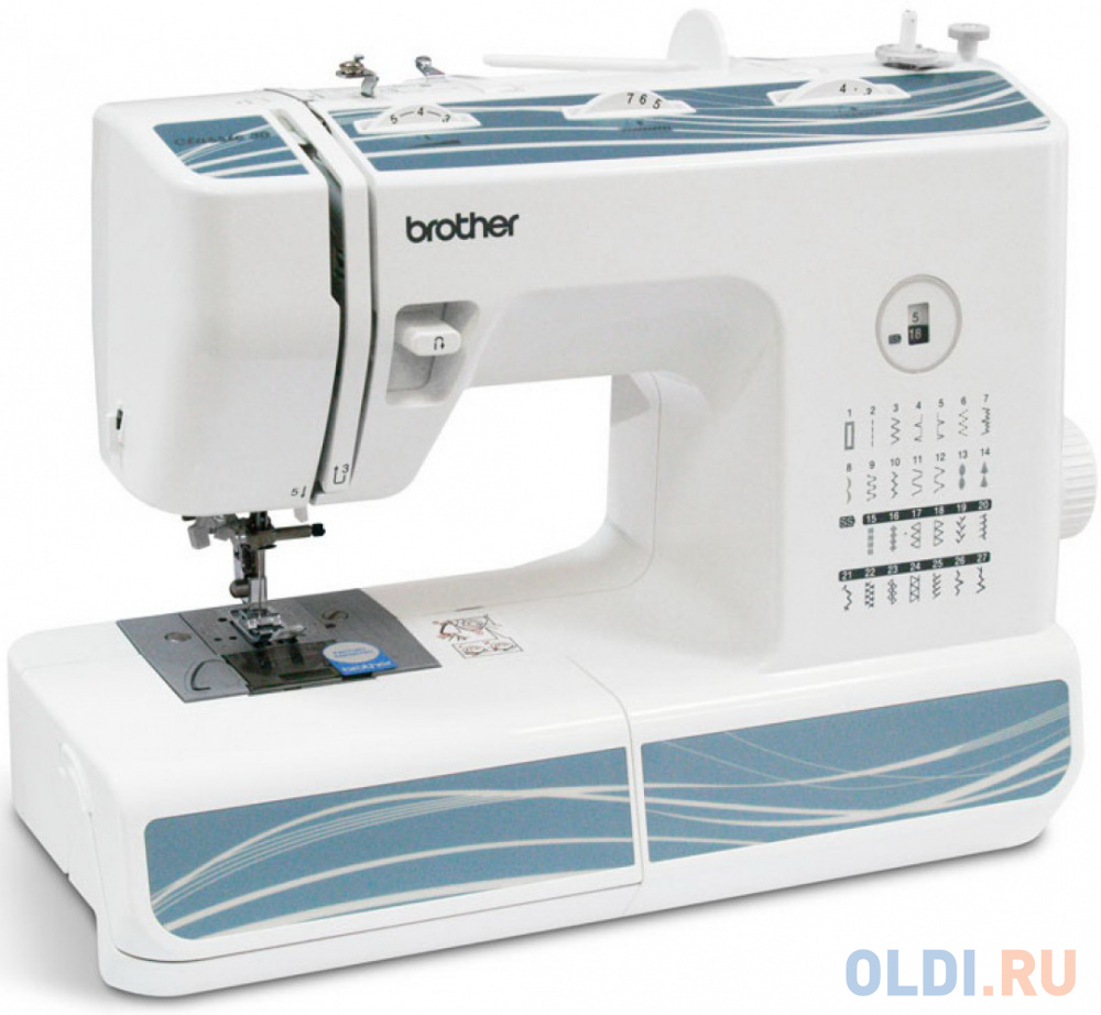 Швейная машина Brother Classic 30 белый швейная машина brother x 4 белый