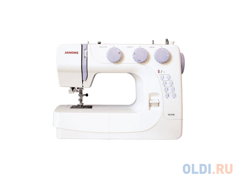 Швейная машина Janome VS54S белый швейная машина janome 90a белый